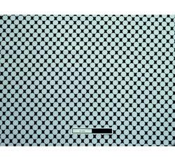 Úplety - černý úplet 8520 s bílými kolečky