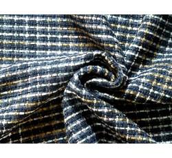 Kabátovky - kabátovka bukle 8503 modro béžová