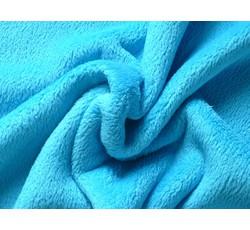Fleece - coral fleece 152 tyrkysový