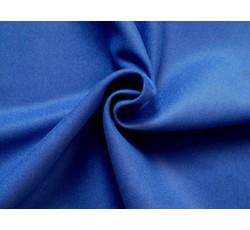 Kabátovky - flauš melton modrý