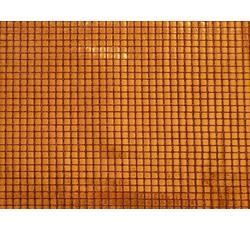 Flitrové látky - látka s flitry 103 rezavá