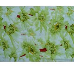 Šatovky - signální zelená šatovka 8632 s květy