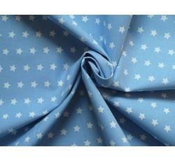 Bavlněné látky - bavlněná látka artcraft modrá s hvězdičkami