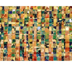 Úplety - viskozový úplet 8630 zelený vzor