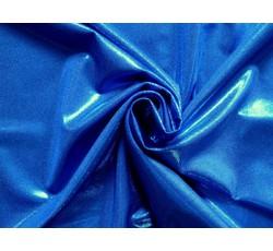 Flitrové látky - flitrová látka modrá