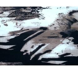Úplety - úplet 8723 hnědý vzor
