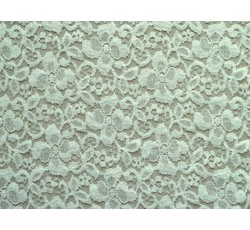 Krajky - elastická krajka 8744 slonová kost