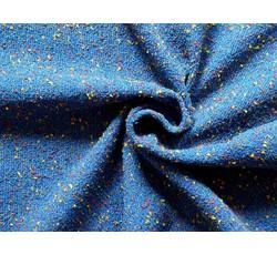 Kabátovky - kabátovka buklé 8738 modrá