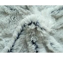 Kabátovky - světlá kožešina 8762 tm.modrý podklad