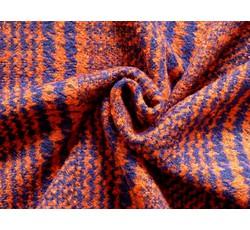 Kabátovky - kabátovka 8791 oranžovo modrá
