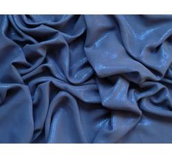 Šifony - šifon 33 tmavě modrý s leskem