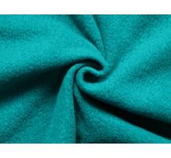Kabátovky - kabátovka vařená vlna tyrkysová