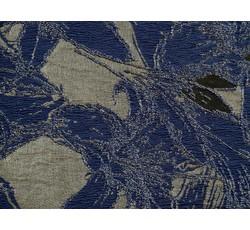 Společenské látky - společenská látka 8845 modrá