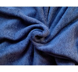 Fleece - coral fleece 153 tmavě modrý