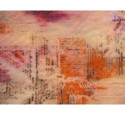 Úplety - viskózový úplet 8887 růžová batika