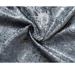 Brokáty - brokát 14 černo stříbrný