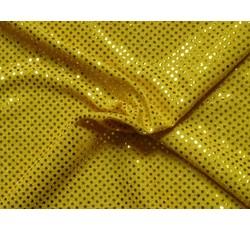 Flitrové látky - Pailetes 11 žlutá
