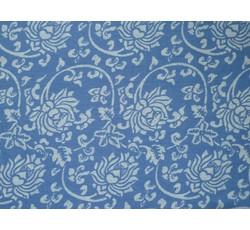 Halenkoviny - světle modrá halenkovina 8951 se vzorem