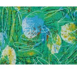 Šatovky - šatovka 8969 zelená s listy