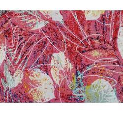 Šatovky - šatovka 8969 růžová s listy