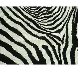 Hedvábí - hedvábná šatovka 8978 zebra
