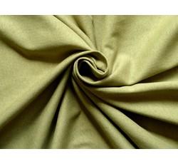 Úplety - olivově zelený bavlněný úplet 9361
