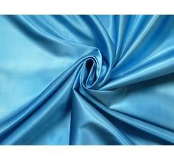 Satény - světle modrý batikovaný satén 9391