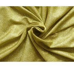 Společenské látky - společenská látka 9648 s glittery žlutá