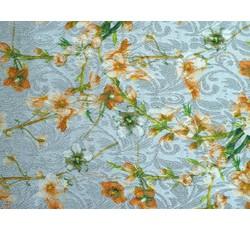 Šatovky - perlová žakárová šatovka 9635 s květy