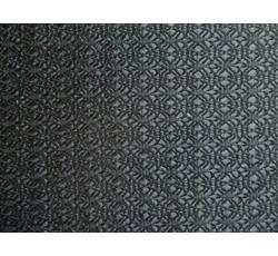 Krajky - černá krajka 9659 podšitá černým saténem