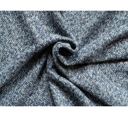 Kabátovky - kabátovka tvíd bukle 9668 tm.modrá