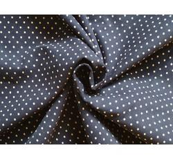 Manšestry - tmavě modrý manšestr 9667 s puntíky
