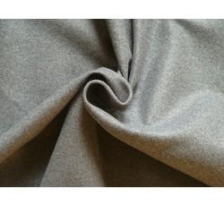 Kabátovky - flauš melton 9669 tmavě šedý