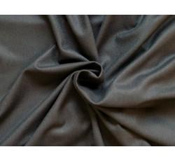 Bavlněné látky - černý bavlněný úplet 9725
