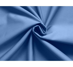 Bavlněné látky - gabardenová kostýmovka Astor modrá