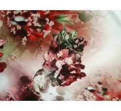 Šatovky - smetanová šatovka 9764 s květy