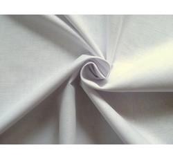 Bavlněné látky - bílé bavlněné plátno na ochranné roušky