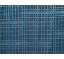 Halenkoviny - košilová látka 9850 modrá kostečkovaná