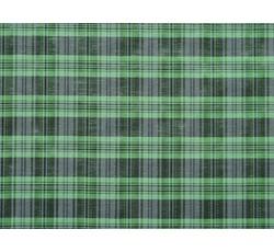 Halenkoviny - košilová látka 9850 zelený proužek s lurexem