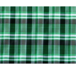 Halenkoviny - košilová látka 9850 zelená kostkovaná