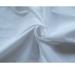 Halenkoviny - bílá košilová látka 9852 s proužkem