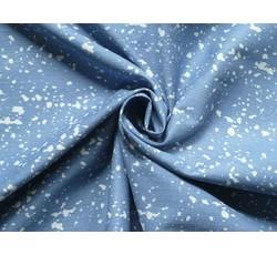 Rifloviny - světle modrá riflovina 9831 bubliny