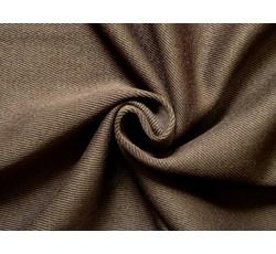 Kabátovky - tmavě hnědá kabátovka 9712 s diagonálem