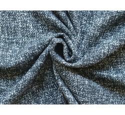 Kabátovky - kabátovka buklé 9970 černo bílá
