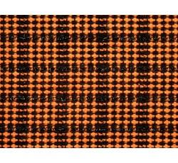 Kabátovky - kabátovka 9993 oranžová kostkovaná