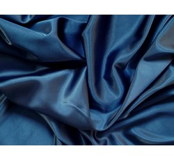 Satény - satén strečový 346 tmavě modrý