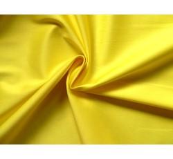 ... látky › bavlna jednobarevná › bavlněná látka žlutá