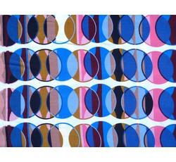 Šatovky - viskózová šatovka 3009 s kroužky