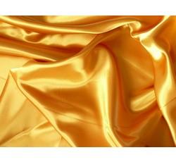 Satény - satén 15 zlato žlutý
