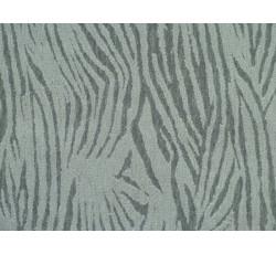 Bavlněné látky - šedý bavlněný úplet 2013 se vzorem